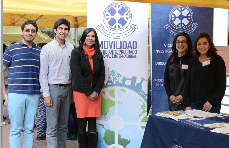 UFRO participó activamente en Feria internacional organizada por TemucoUniverciudad