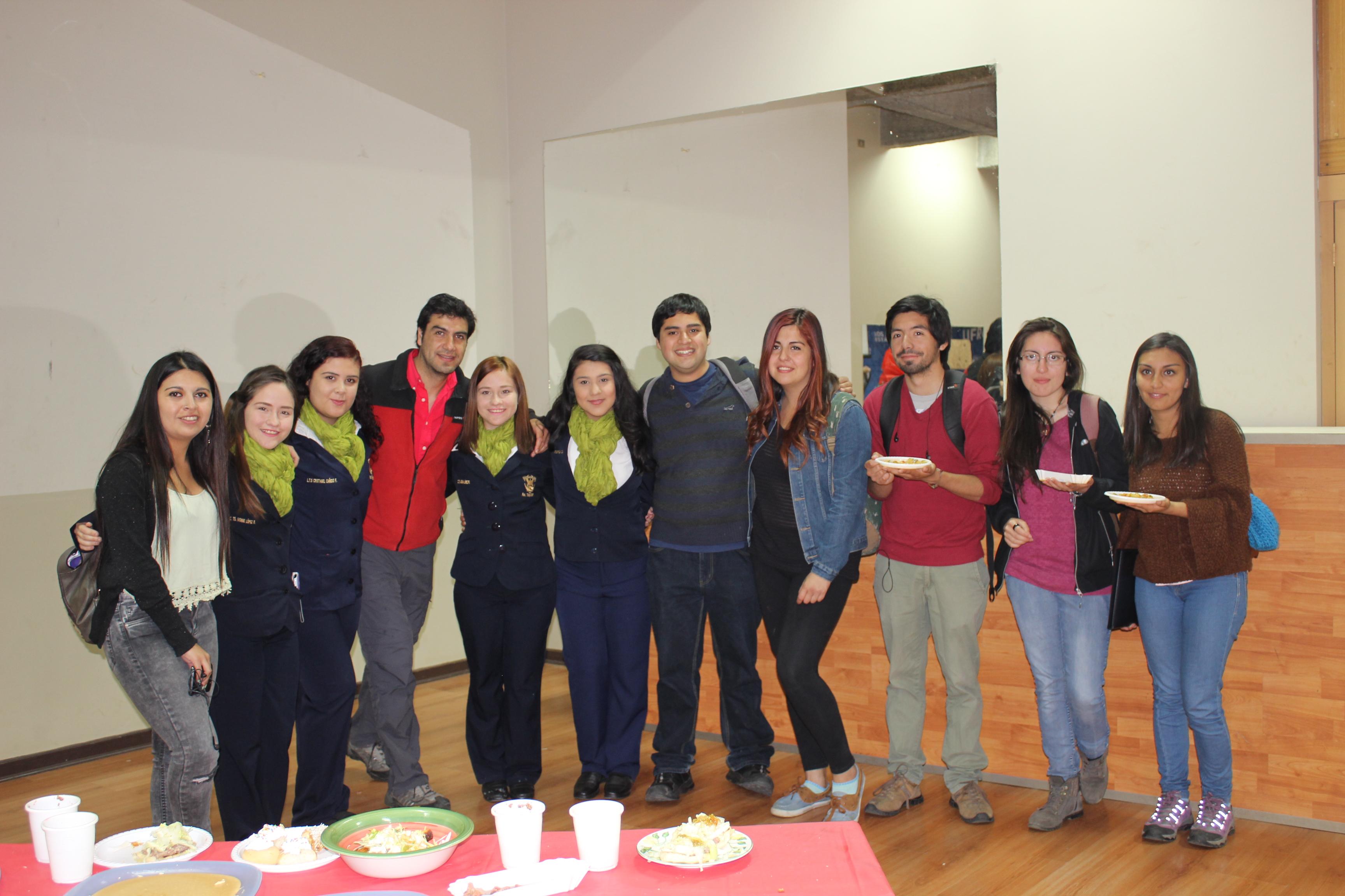 """Estudiantes extranjeros en la UFRO celebran el """"Cultural Day"""""""