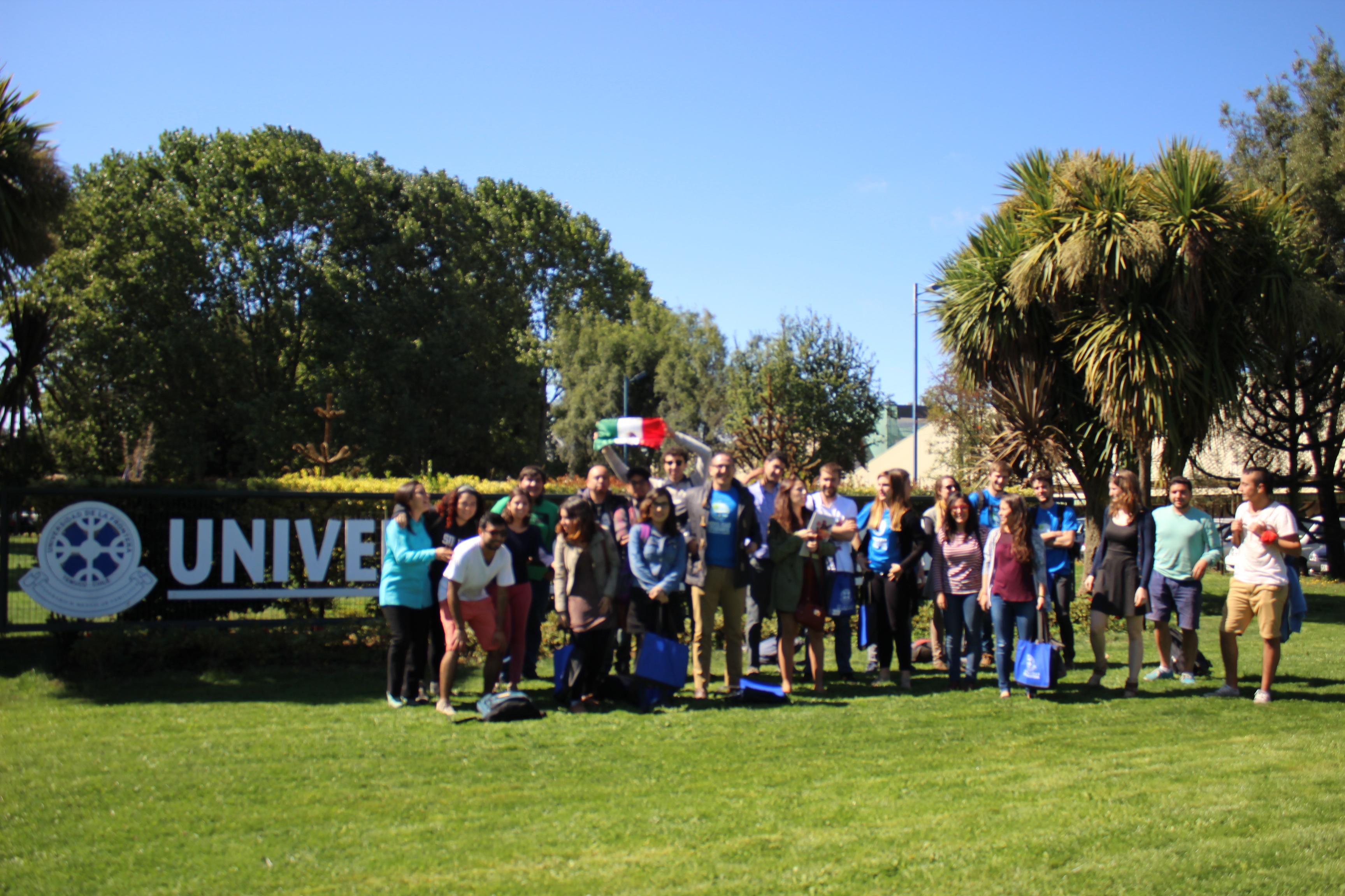 Bienvenida Estudiantes Extranjeros Primer semestre 2016